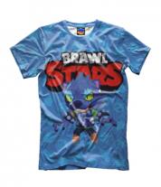 Детская футболка 3D Brawl stars werewolf