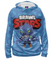 Толстовка худи 3D Brawl stars werewolf