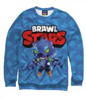 Толстовка без капюшона 3D Brawl stars werewolf