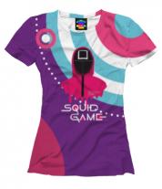 Женская футболка 3D Игрок 456